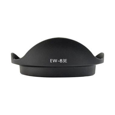 Optic Pro EW-83E Hitam Lens Hood fo ...