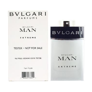 Bvlgari Man Extreme EDT Parfume Pria Tester [100 mL]