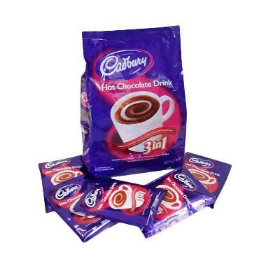 PROMO Cadbury Hot Chocolate Minuman Instan 15 SACHET