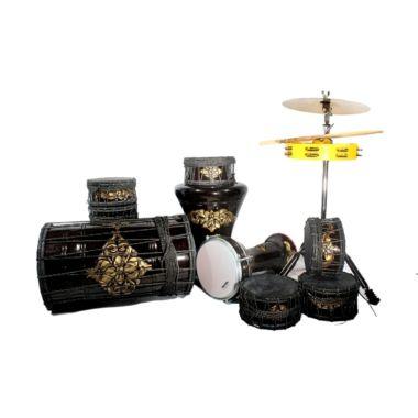 harga Cahaya Abadi 81 Marawis Ukir Mahoni Super Full Set Kulit Hitam Blibli.com