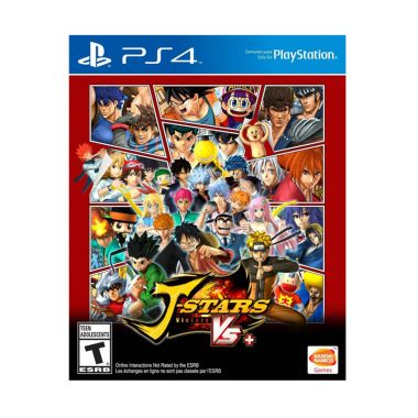 Sony Playstation 4 J-Stars Victory VS+ Dvd Game