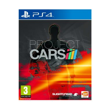Sony PlayStation 4 Project Cars DVD GAME