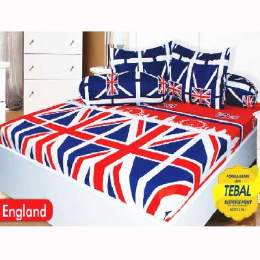 California England Set Sprei [180x200x20 cm]