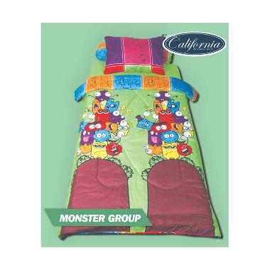 California Monster Grup Sprei [120 x 200 x 20 cm]