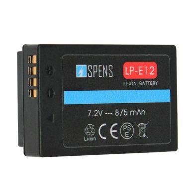 Baterai Kamera Canon EOS-M10 EOS-M  ... s X7 LP-E12 SPENS Battery
