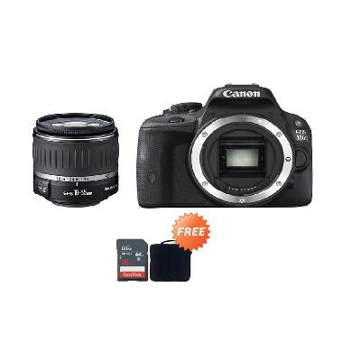 Canon EOS 100D 18-55 III Kamera DSL ... era Canon + Sandisk 16 GB
