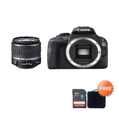 Canon EOS 100D 18-55 III Kamera DSL ... C 16gb + Sling Camera Bag