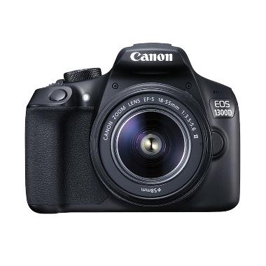 Canon 1300D kit 18-55mm III Non IS Kamera DSLR