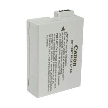 Canon Lithium-Ion LP-E8 Baterai Kamera [1120 mAh]