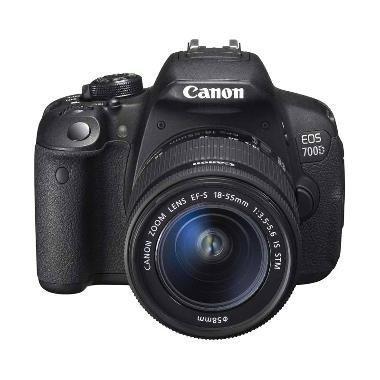 Canon EOS750D Kamera DSLR [ 24.2MP- Hybryd CMOS Sensor- Wifi]