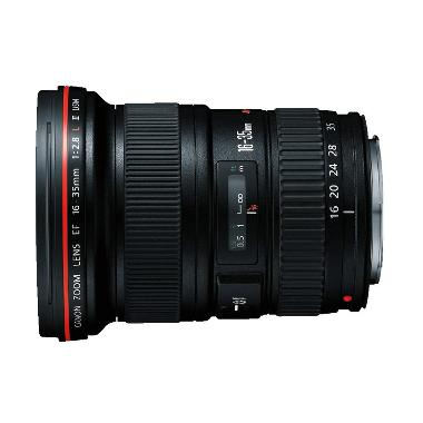 Canon EF 16-35mm f/2.8L II USM Lensa Kamera