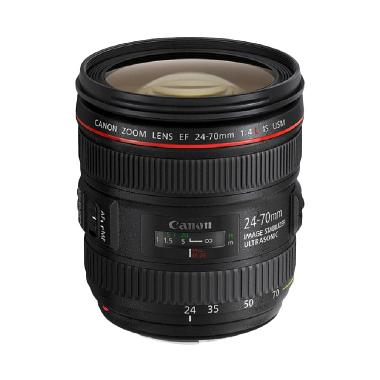 Canon Lensa EF 24-70mm f/4 L IS USM