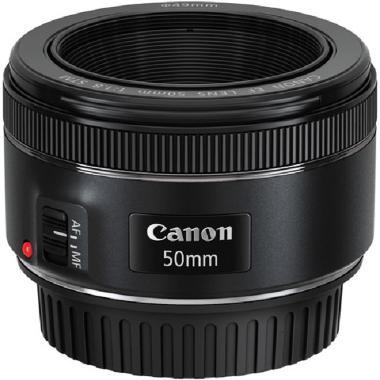 Canon EF 50mm f/1.8 STM Lensa Kamera