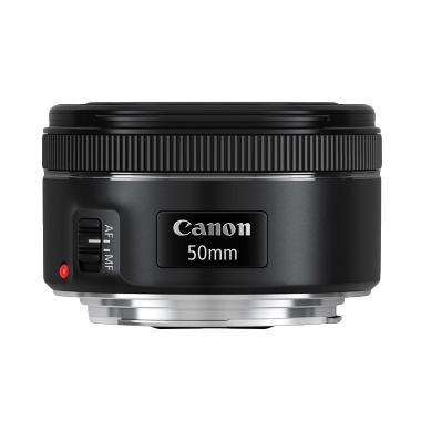 Canon EF 50mm f-1.8 STM Lensa Kamera
