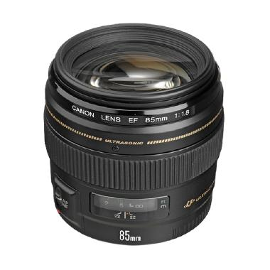Canon EF 85mm f/1.8 USM Lensa Kamera