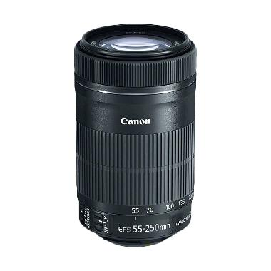 Canon  EF-S 55-250mm IS STM Black Lensa Kamera
