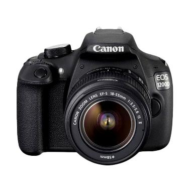 Canon EOS 1200D Kit 18-55mm f/3.5-5.6 IS II Kamera DSLR