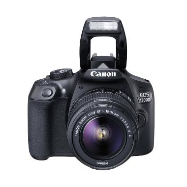 Canon EOS 1300D Kit 18-55 IS II WiF ... GB + FILTER UV + S. GUARD