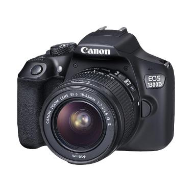 Canon EOS 1300D with lens 18-55mm IS II Kamera DSLR