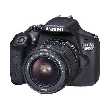 Canon 1300D 18-55mm IS II Kamera DS ... SanDisk 16gb KameraKamera