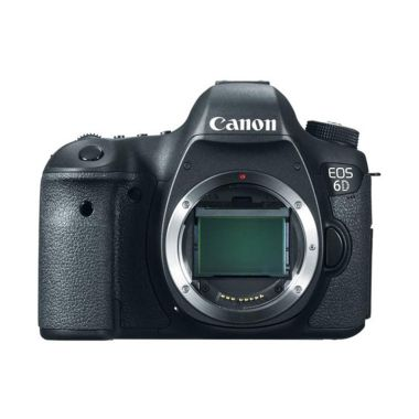 Canon EOS 6D Wifi Body Only Hitam Kamera DSLR