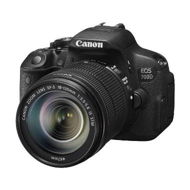 Canon EOS 700D Kit EF-S 18-135mm IS ... Memory 16GB + Screenguard
