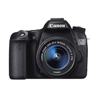 Canon EOS 70D WiFi 18-55mm Kamera DSLR