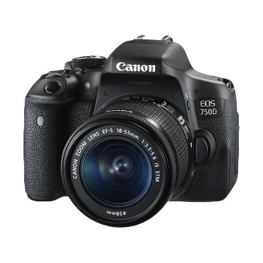 Canon EOS 750D Wifi Kit 18-55mm IS  ... k + Free LCD Screen Guard