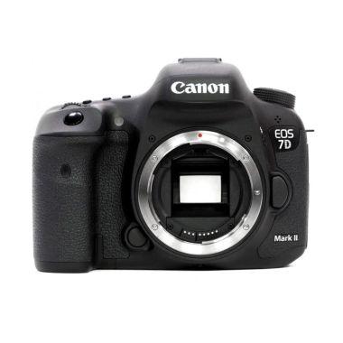 Canon EOS 7D Mark II Kamera DSLR [Body Only] FREE Wi-Fi Adapter W-E1