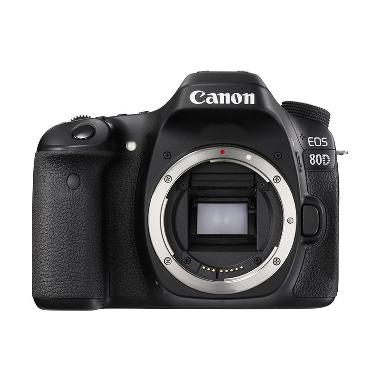 CANON EOS 80 D BODY ONLY BLACK