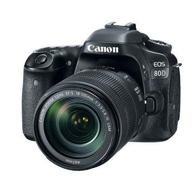Canon EOS 80D Kit 18-135mm Nano USM WiFi Kamera DSLR Tokocamzone