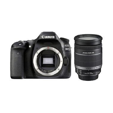 harga Canon EOS 80D KIT EF-S 18-200MM IS Kamera DSLR - Free Canon Connect Station CS100 1TB Storage Device Blibli.com