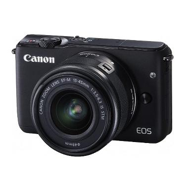 CANON EOS M10 BLACK + EF-M15-45 IS  ... sk 8gb + Screen Protector