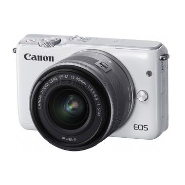 Canon EOS M10 Kit 15-45mm IS STM Ka ... en Guard + Boneka Pikachu
