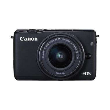 Canon EOS M10 Kit 1 15-45mm f/3.5-6 ... Kamera Mirrorless - Resmi