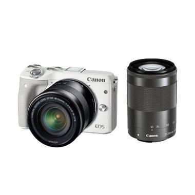 Canon EOS M3 Kit EF-M15-45 Kamera M ... tor , tas  , filter 2 pcs
