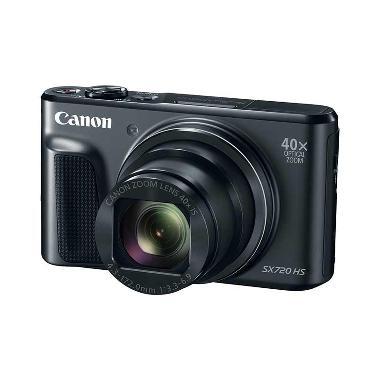 Canon PowerShot SX720 HS Kamera Pocket - Black + Free LCD Screen Guard