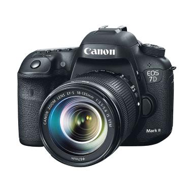 Canon EOS 7D Mark II Kit 18-135 + W-E1 Kamera DSLR