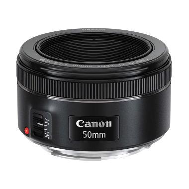 Hot Deals -  Canon EF 50mm f/1.8 STM Lensa Kamera + FILER UV