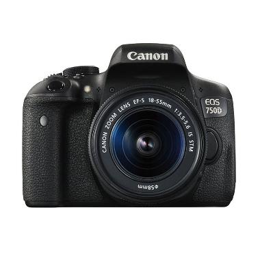 CANON EOS 750D + EF-S 18-55 IS STM  ...  Bag + Attanta Kaiser 234