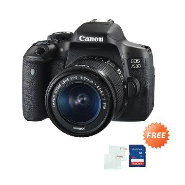 Hot Deals - Canon 750D Kit 18-55mm Kamera DSLR