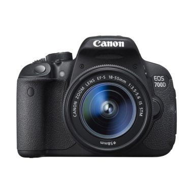 Hot Deals - Canon EOS 700D Kit 18-55mm IS STM Kamera DSLR