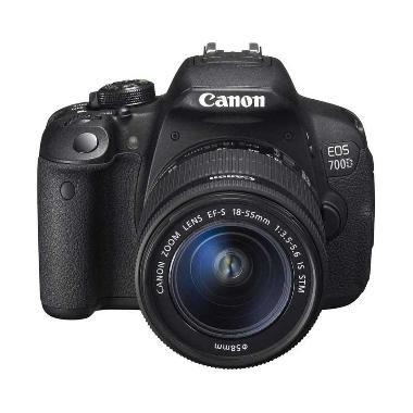 Canon EOS 700D Kit 18-55mm IS STM Kamera DSLR