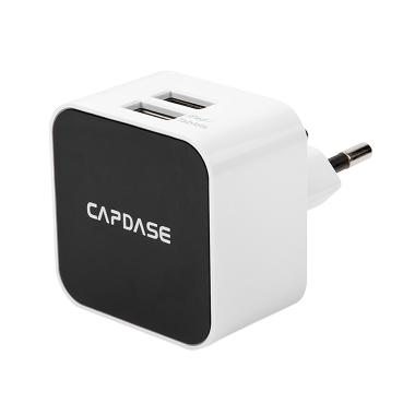 Capdase Cube K2 Dual USB Adapter Power - White [12W/2.4A]