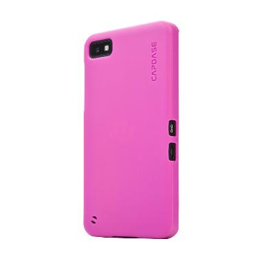 Capdase Softcase Casing for BB Z30 Lamina - Tinted Fuchsia