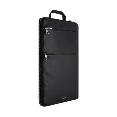 Capdase Urbanite Leather Softcase T ... MacBook - Black [13 Inch]