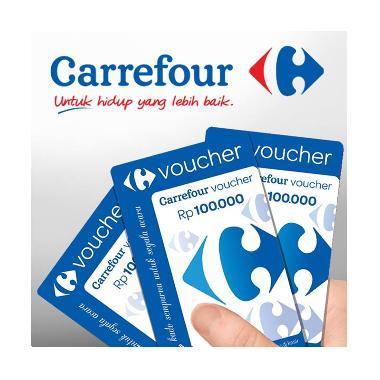 Carrefour - Paket Belanja Carrefour Physic Voucher [Rp.700.000]