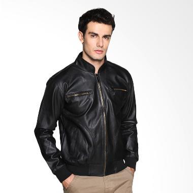 Carvil Pablo-BLK Jacket Pria - Black