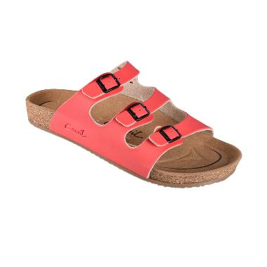 Carvil Footbed Falkland-03 Sandals Pria - Red