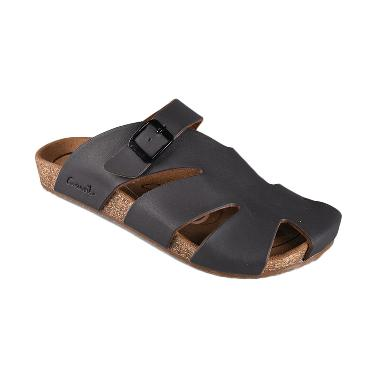 Jual Carvil Man Sandal Footbed Falkland 04 Dk Brown Online